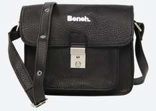 "BENCH.™ - Damen-Handtasche ""Malke"" (Jet Black) ab €11,15 [@Bench.de]"