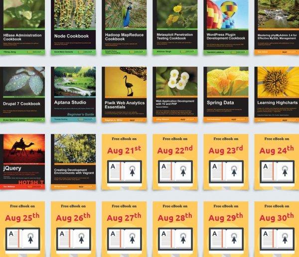 Packt Publishing - Jeden Tag ein gratis IT eBook