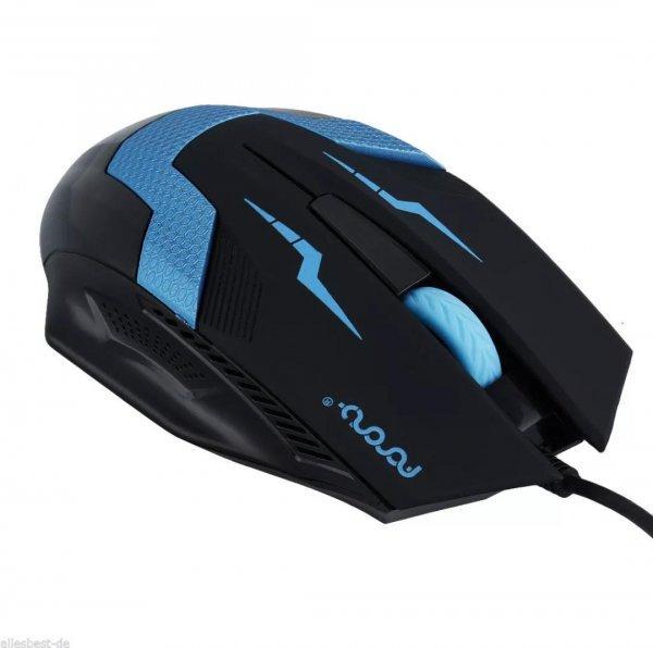 [21.08] 1600 DPI USB Maus kabelgebunden 1€ @eBay