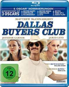 [Amazon Prime] Dallas Buyers Club Blu-Ray ab 6,99€