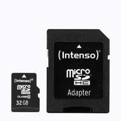 Micro SD 32 GB Speicherkarte von Aldi Nord - 3 Jahre Garantie