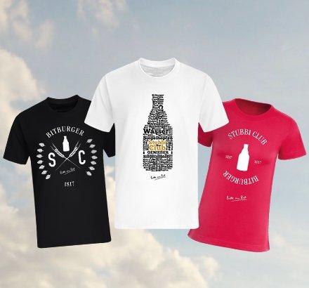 60 Bitburger Stubbi Deckel Sammeln und ein Kostenloses T-Shirt abstauben. 22,45 IM BESTFALL!