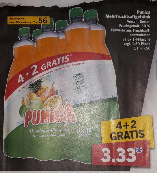 [Lidl] 6 x 1 Liter Punica für 3,33€ + 1,50€ Pfand ab 24.8.