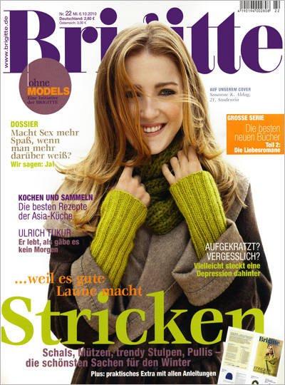 Brigitte Abo (Magazin) 12 Monate für 78€ (-10€ Abosgratis) (+60€ Bargeldprämie +40 Payback Punkte) = effektiv 7,60€! (FREUNDIN auch eff. 7,40€)