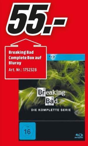 [Lokal Köln + Umgebung] Breaking Bad - Die komplette Serie auf Blu-ray für 55€