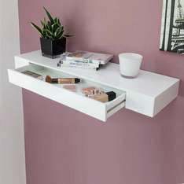 s`home BELLA Regal mit Schublade 80 cm weiss hochglanz Schmuckregal B-Ware, 14,99 EUR @ ebay WOW