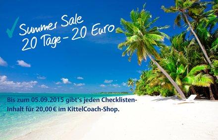 [iOS] Alle Checklisten im Kittelcoach für je 20€ -> bis zu 66% Rabatt