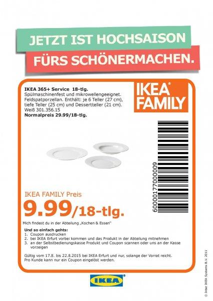 IKEA 365 + Service 18- teilig nur 9,99 € - LOKAL -