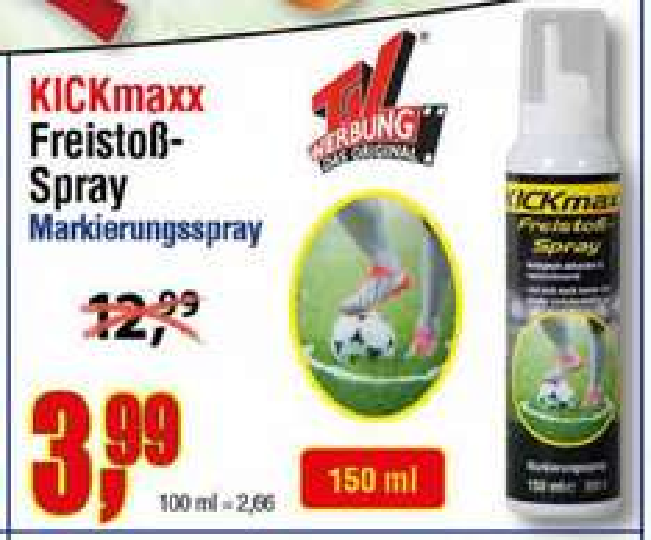 [Centershop] Freistoßspray Kickmaxx 3,99€
