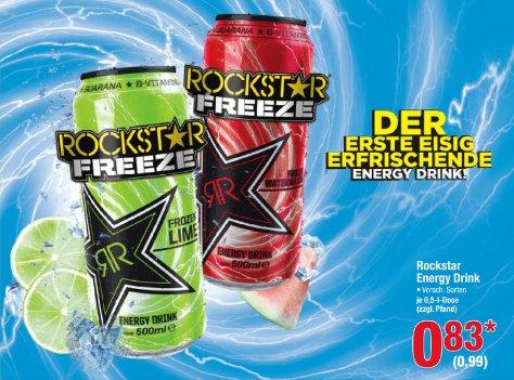 [METRO] Rockstar Energy 500ml für 0,99€ (brutto) ab 27.08