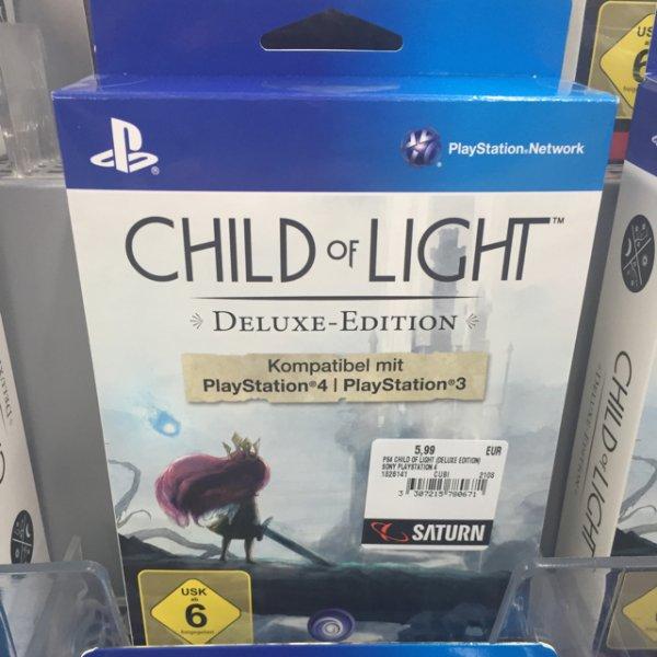 Child of Light Deluxe Edition PlayStation 4 PS4 lokal Saturn Alexanderplatz Berlin