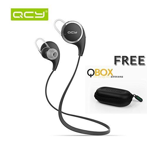 [Amazon-Marktplatz] QCY QY8 drahtlose Bluetooth 4.1 Sport Kopfhörer  mit Zubehör