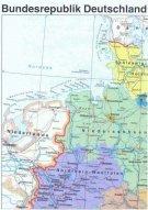 Gratis Deutschland Landkarte 40x55cm, keine Versandkosten
