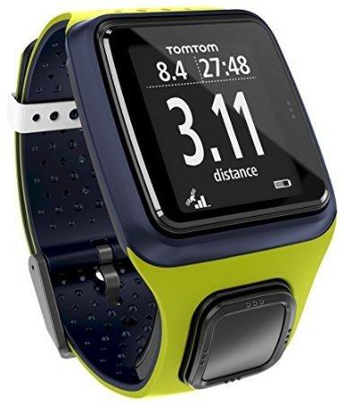 [b4f] TomTom Runner GPS-Laufuhr (blau/grün oder türkis/grün)