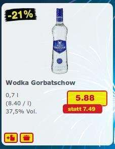 [Netto MD] 0,7L Flasche Wodka Gorbatschow 5,88€