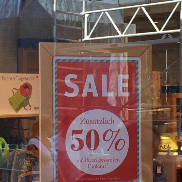 Bochum ruhrpark Jako-o 50 Prozent auf alles