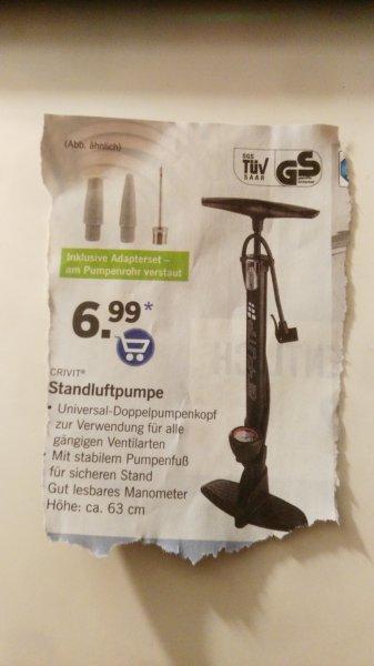 [Lidl Bundesweit] Fußpumpe 7€