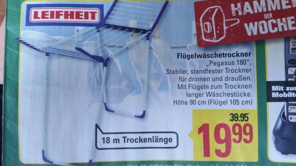 Leifheit Pegasus 180 Flügelwäschetrockner - lokal Marktkauf Löhne