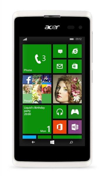 "Acer M220 Liquid, 10,16 cm (4""), Dual Sim, 1,2 GHz, Qualcomm Snapdragon, MSM 8210 weiß inkl. Vsk für  53,51 € > [amazon.it]"
