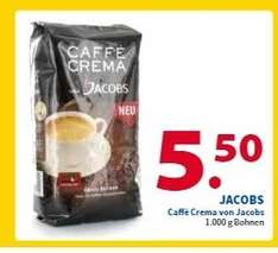 [NL - Venlo] 2 Brüder von Venlo; 1 kg Jacobs Kaffeebohnen Caffé Crema