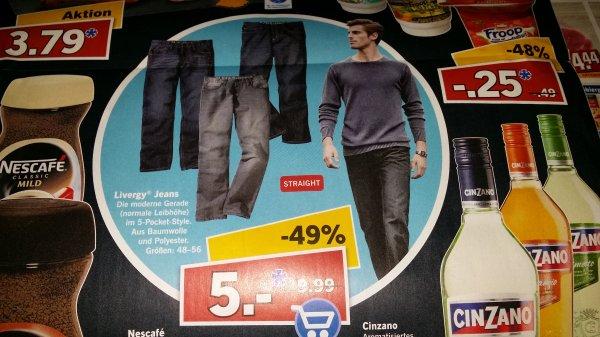 [LIDL] Livergy Herren Jeans am 29.8.15 für 5€ (lokal?)