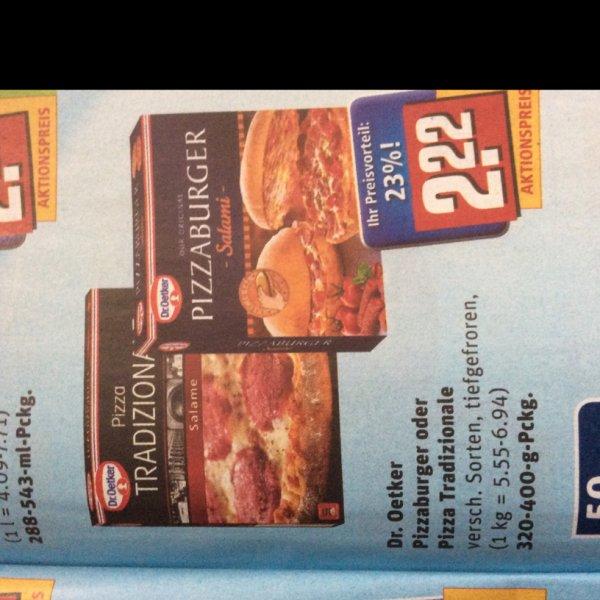 [REWE] 2x Dr.Oetker Pizzaburger für 2,94€ (Angebot+Coupon)