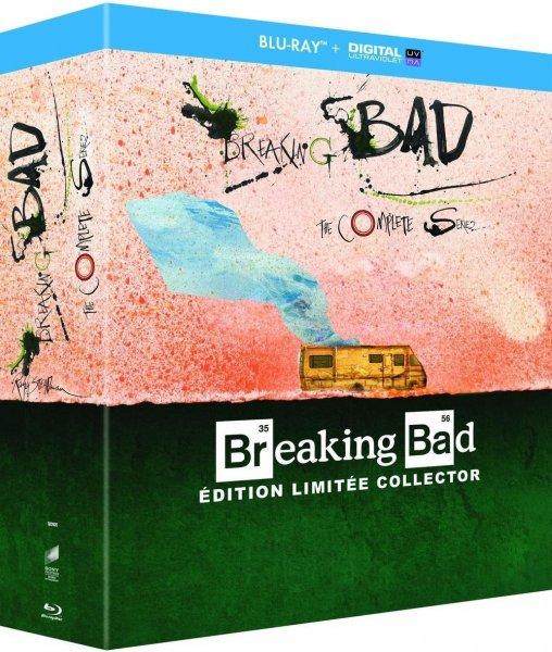[Wieder da bis Mitternacht] 2x Breaking Bad - Die komplette Serie (Blu-ray) Steadman Edition (OT) für 73,41€ @Amazon.fr