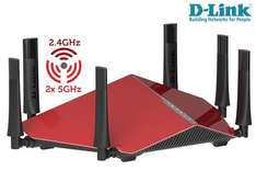 WLAN MONSTER: D-Link AC 3200 DIR-890L Triband Cloud Router 205,90 bei Ibood.de