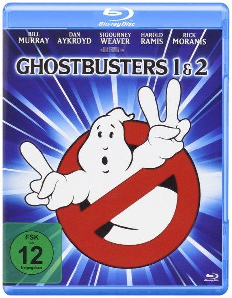 Ghostbusters 1+2 Blu-ray für zusammen 8,97€ mit Prime oder + 3€ Versandkosten bzw. nen Buch