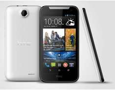 HTC Desire 310  (11,4 cm (4,5 Zoll) FWVGA Display, Quad-Core, 1,3GHz, 1GB RAM, 5 Megapixel Kamera, Android 4.2) für 69,90 € @Allyouneed