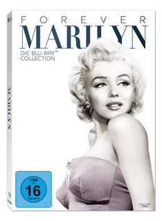 Marilyn Monroe - Forever Marilyn - Die Blu-ray Kollektion (7 Disc) @Amazon.de