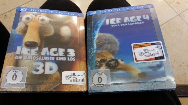 Lokal [ER Arcaden Saturn] Steel Ice Age 3D 3+4 je 12 €