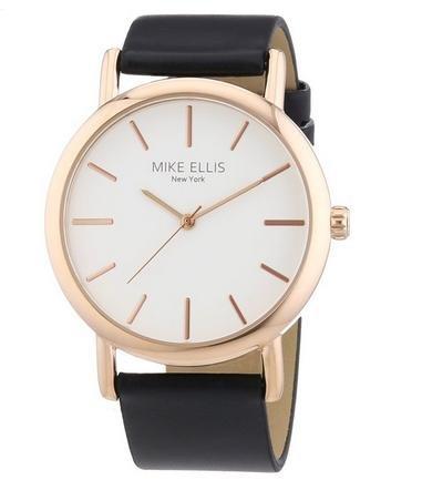 Mike Ellis New York Damen-Armbanduhr Analog Quarz Kunstleder L2979/4