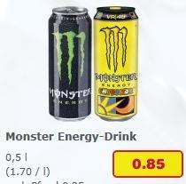 [Netto ohne Hund] 0,5l Monster Energy Drink (Dose) versch. Sorten 0,85€ bis 29.08.2015