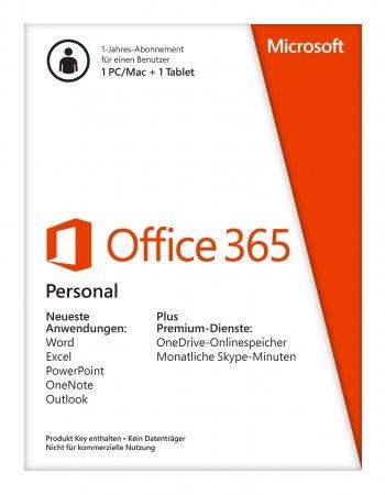 Office 365 Personal 1 Jahr 31,90€ inkl. Versand, 25 Euro lokal in Braunschweig (hwh.de)