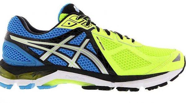 40 % Asics GT-2000 3 Herren Joggingschuhe Gelb Laufschuhe Schuhe running