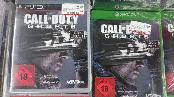 [LOKAL: Mülheim adR] Call of Duty - Ghosts XBox one & PS3 7€ MediaMarkt