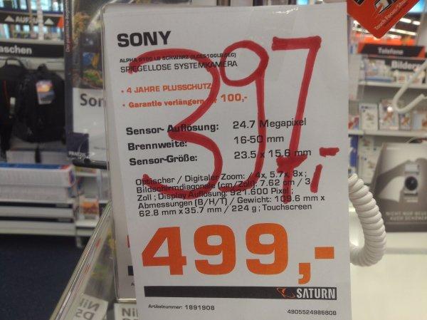 [LOKAL - OSNABRÜCK] Saturn Sony Alpha 5100 [397€] & 6000 [577€] mit dem 16-50 OSS