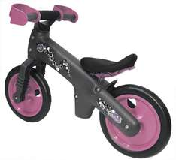 [Amazon-Prime] Ultrasport Kinder-Laufrad mit Handschutz - My First Bike Rosa