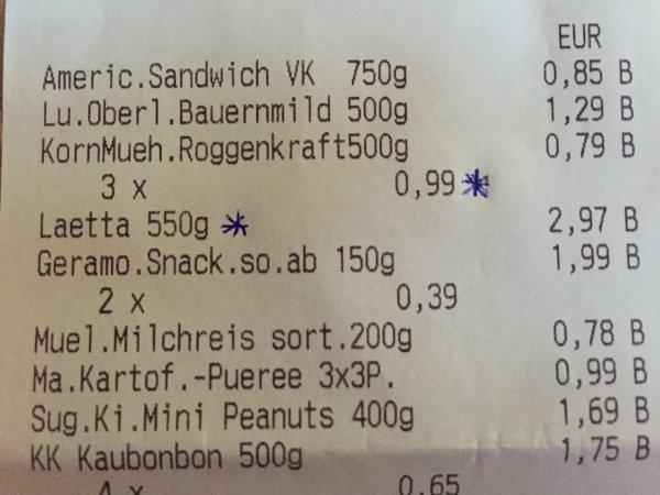 (Netto ohne Hund Lokal Berlin?) Lätta Sondergröße 550g für 99 Cent