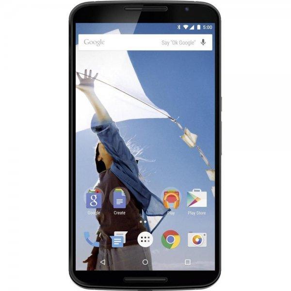 Google Nexus 6 64GB Weiß / Blau in geöffneter OVP mit voller Gewährleistung