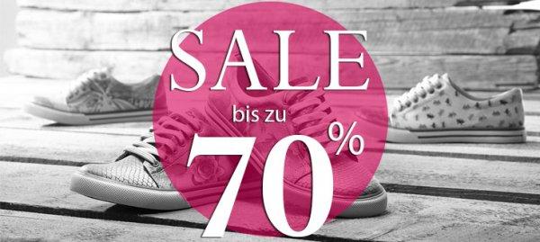Bis zu 70% Rabatt auf Schuhe bei DOGO! + 5€ für Newsletter-Anmeldung