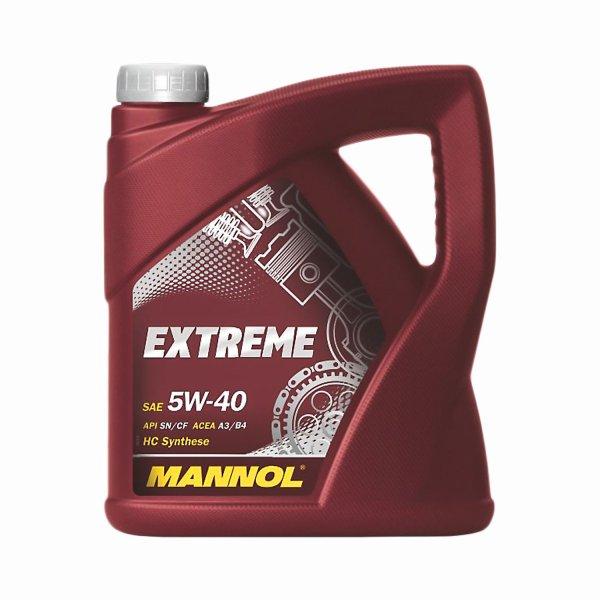 MANNOL 5W-40 Motoröl 4 Liter VSK-Frei