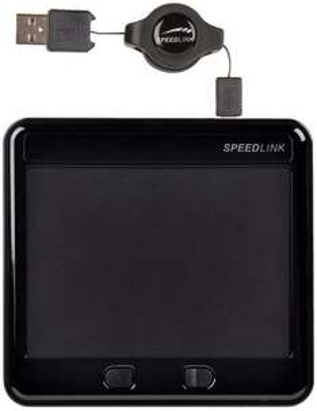 Speedlink Sway Multitouch Touchpad, 10 Fingergesten, einziehbares Kabel 5 Euro Prime oder plus Versand