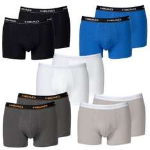 HEAD Basic Boxershorts 8-Stück (verschiedene Farben) für 19,95 Euro