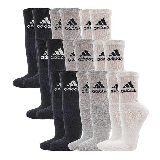 [Adidas] Unisex 9er Pack Sport- und Freizeitsocken für 19,95 EUR (pro Sockenpaar: 2,21 EUR) incl. kostenlosen Versand [Amazon Prime]