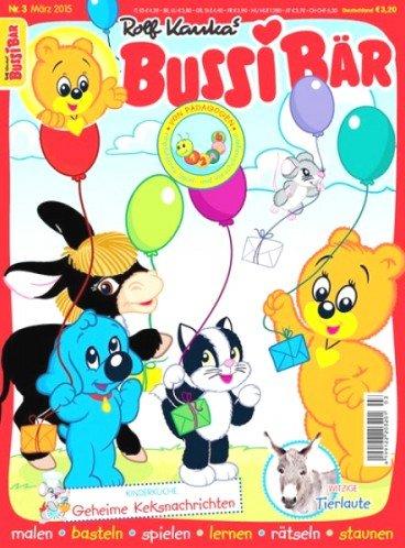 """Jahresabo der Zeitschrift """"Bussi Bär"""" zum Abopreis von 38,40€ mit 20,00€ Gutscheinprämie – Effektivpreis: 18,40€"""