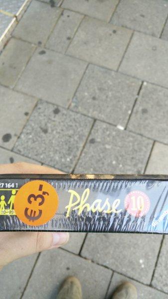 [lokal M] Phase 10 für 3€ (Idealo 8,94€)