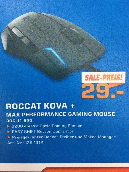 (Saturn Bundesweit & Online) Roccat Kova + Max Performance Gaming Mouse für 29 Euro