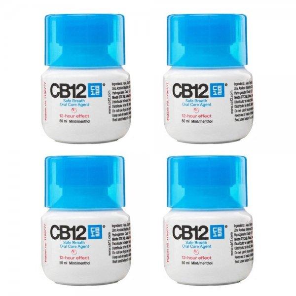 [Amazon-Marktplatz] CB12 Mint -Sicherer Atem Oral Care Agent 50ml (4 Flaschen) wieder möglich